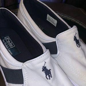 polo ralph lauren Mens canvas sneaker size:10.5D
